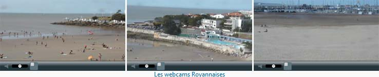 Webcams Royannaises