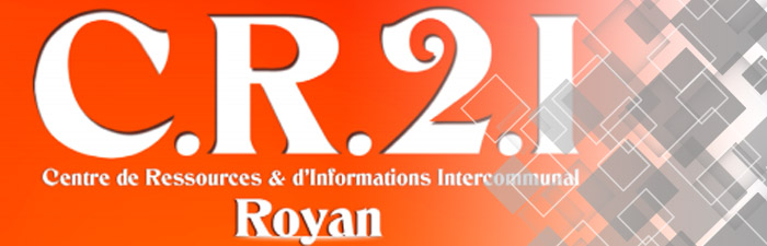Logo « C.R.2.I » Centre de Ressources Intercommunal Royan