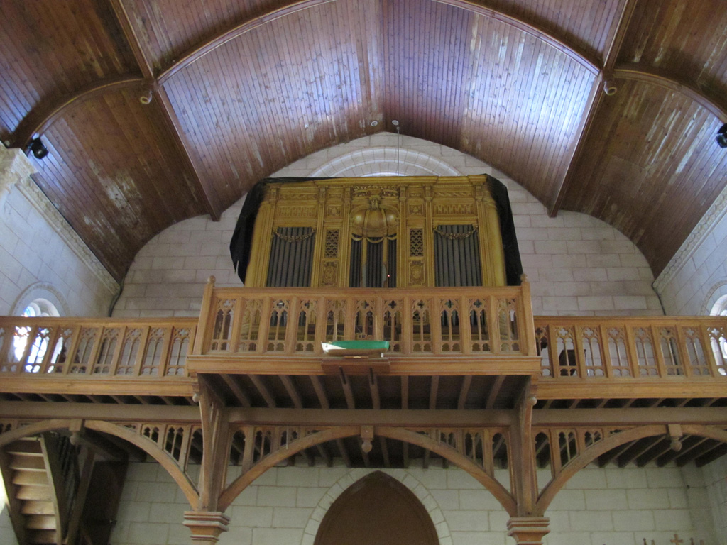 Photo du Buffet d'Orgue de Notre Dame des Anges
